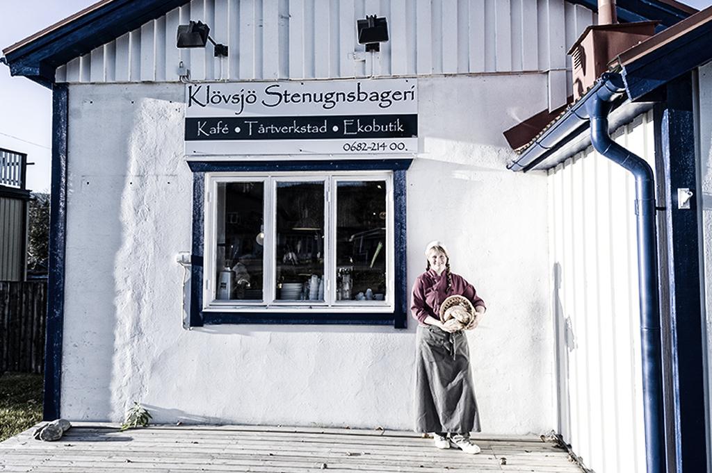 Ekologiskt bakat på Klövsjö stenugnsbageri