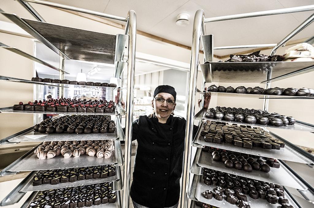 Tinas chokladfabrik