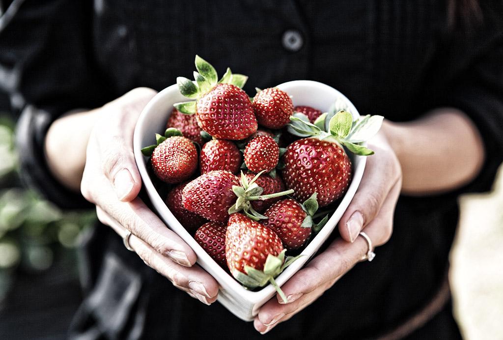 Världens godaste jordgubbstårta i Bönared utanför Jönköping