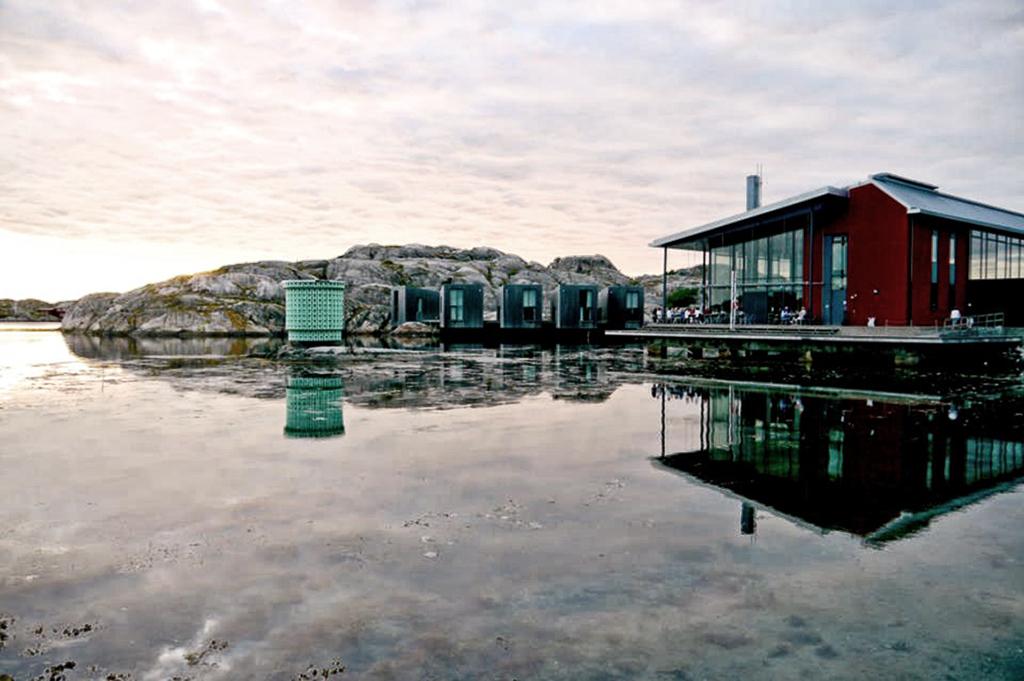 himlamycketsverige skriver om Vatten gourmet & café i Skärhamn