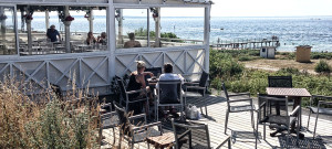 Räkor med havsutsikt på Strandsidan