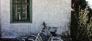 Blåbärsglass på öländska Café Mejeriet
