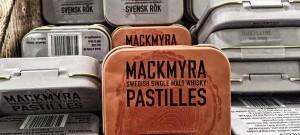 Lakritspastiller med smak av Mackmyra
